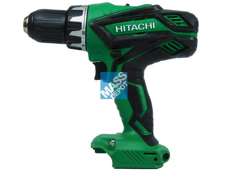 "NEW Hitachi DS18DGL 18V 1/2"" Lithium Ion Drill Driver (Bare Tool)"