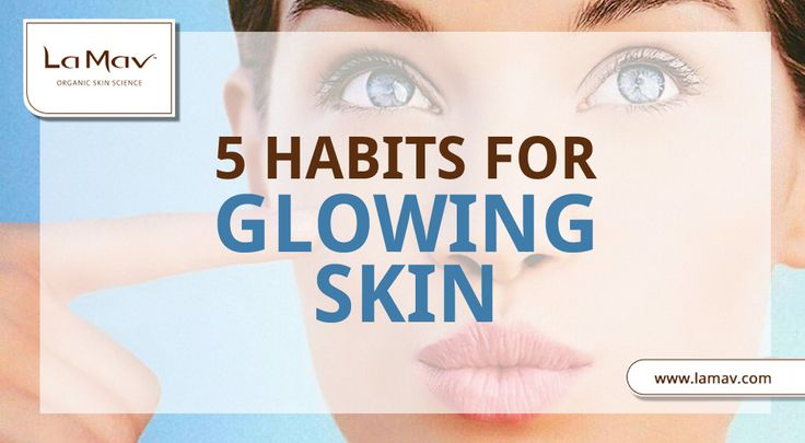 Learn How To Make Your Skin Glow All-Day-Long With These Simple Tricks #organicskincare #naturalbeauty #greenbeauty