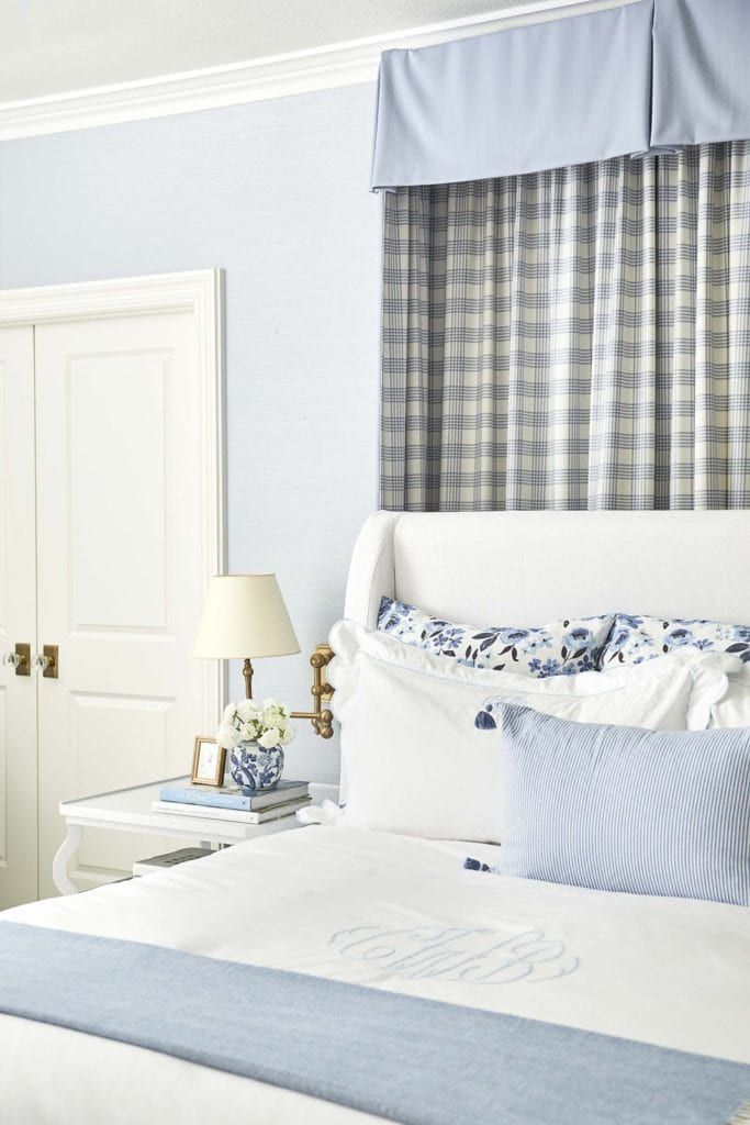 At Home In Dallas With Caitlin Wilson The Glam Pad Bedroom Inspirations Home Master Bedroom Inspiration Caitlin wilson grasscloth wallpaper