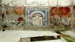 Wall mosaic in herculaneum