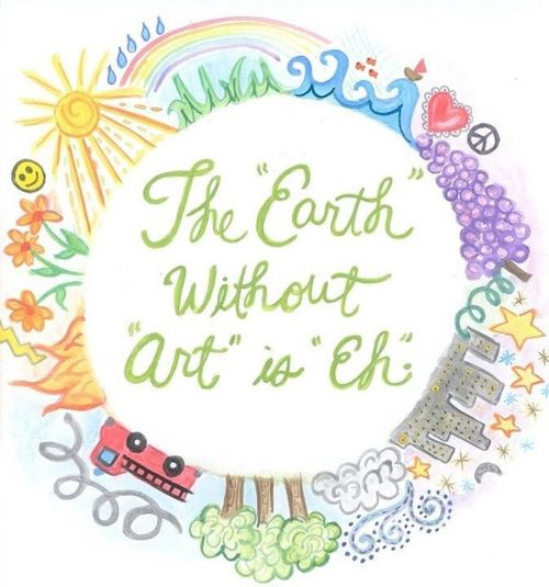 The earth without art is eh