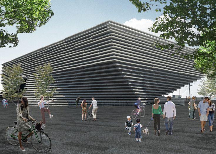 Kengo Kuma's V&A at Dundee Granted Planning Permission,© Kengo Kuma & Associates