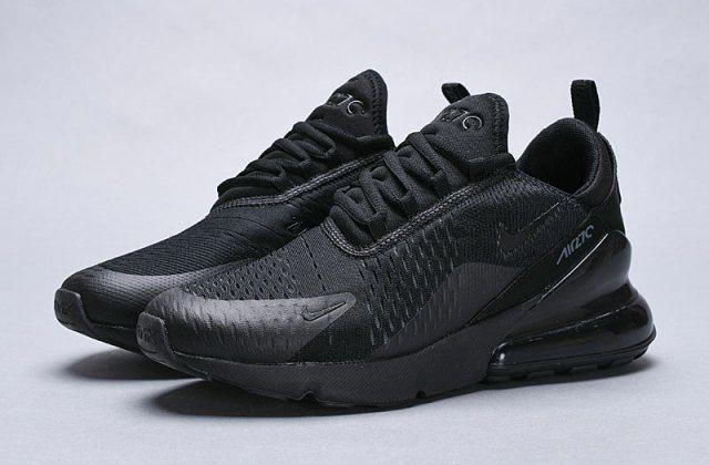Nike Air Max 270 Triple Black AH8050 005 Mens Womens