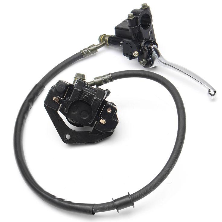 Front Hydraulic Caliper Brake Assembly For 50cc 70cc 110cc 125cc Dirt Pit Bikes