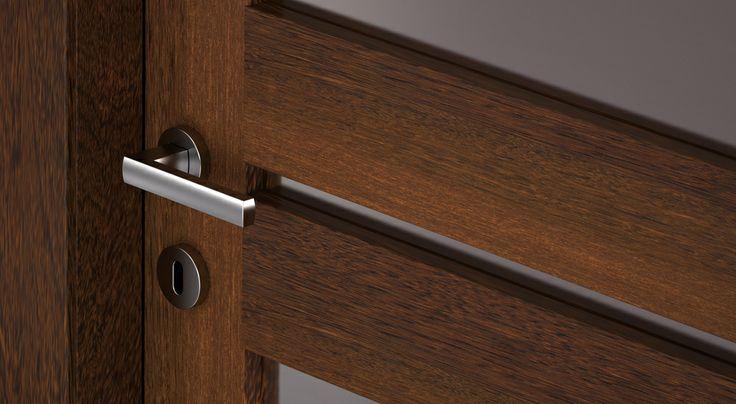 FBP porte | Collezione LOLA Dettaglio vetro #fbp #porte #legno #door #wood #wooddoor
