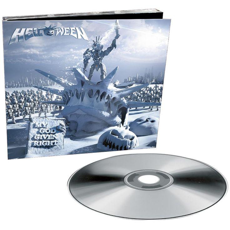 """L'album degli #Helloween intitolato """"My God-Given Right""""."""