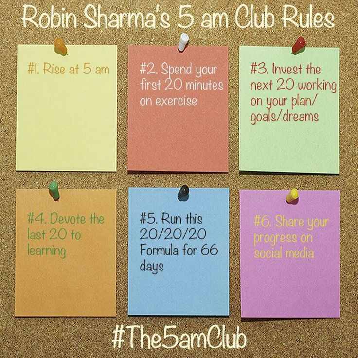 Robin Sharma ... 5am club