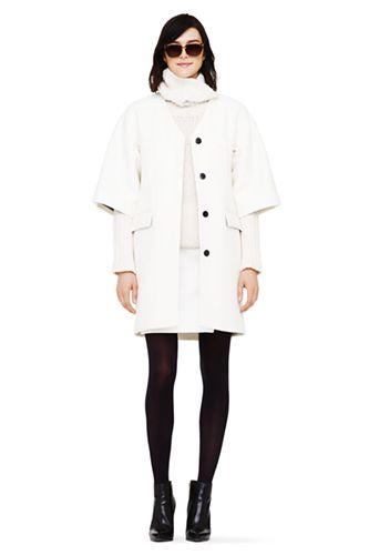 Winter white coats sale