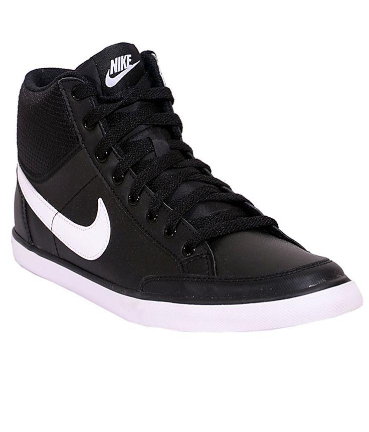 Nike Capri 3 Mid Blk White Men Casual Shoes