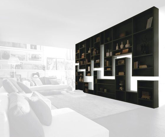 Librerías | Almacenamiento | 30MM Weightless_shelf | LAGO. Check it on Architonic