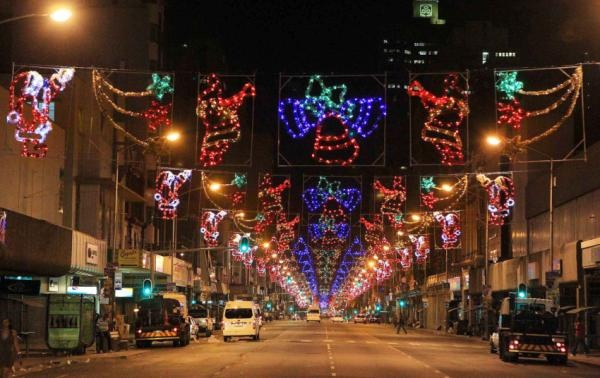Christmas Lighting In Town, Durban  Magic Lighting: For more info contact us on  Tel: +27 31 462 9473  Cell: +27 82 44 30 321  Email: sales@magiclighting.co.za  http://www.magiclighting.co.za/