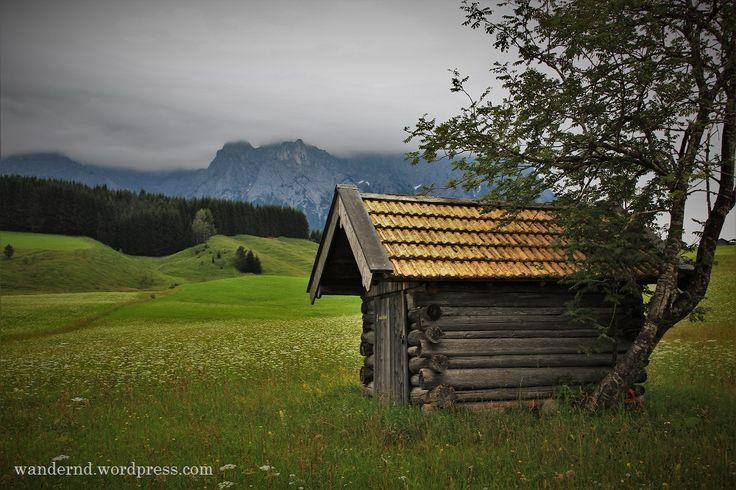 Wandern mit Karwendelblick