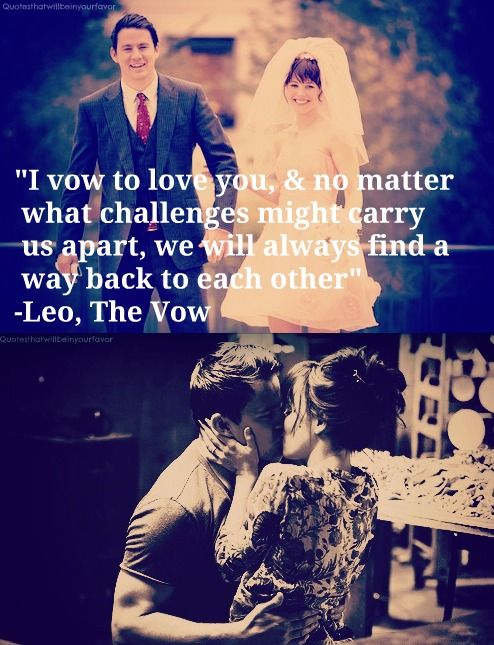 20 best The Vow Quotes images on Pinterest | The vow, Film ...