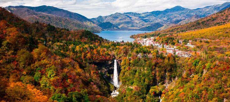 華厳の滝 【日光】秋の紅葉名所おすすめスポット