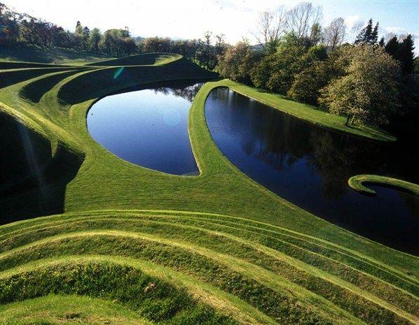 Jardin de la spéculation cosmique, Dumfries, Ecosse