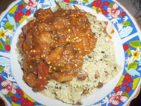 berenjena dominicana | Bueno finalmente dejé que se cocinara como por espacio de quince ...