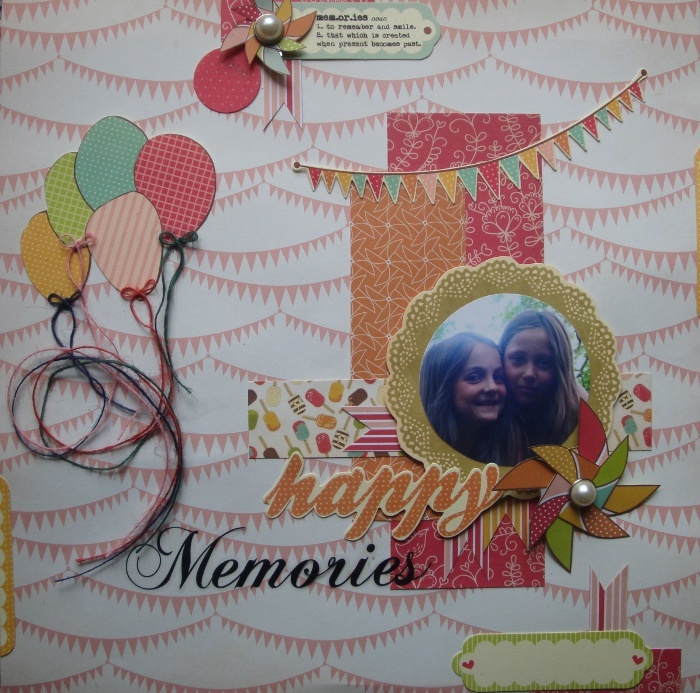 Happy Memories   Save the Date -- Kaisercraft
