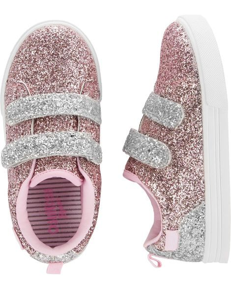 f3e35ac4295848 Kid Girl OshKosh Glitter Sneakers from OshKosh B gosh. Shop clothing    accessories from a trusted name in kids