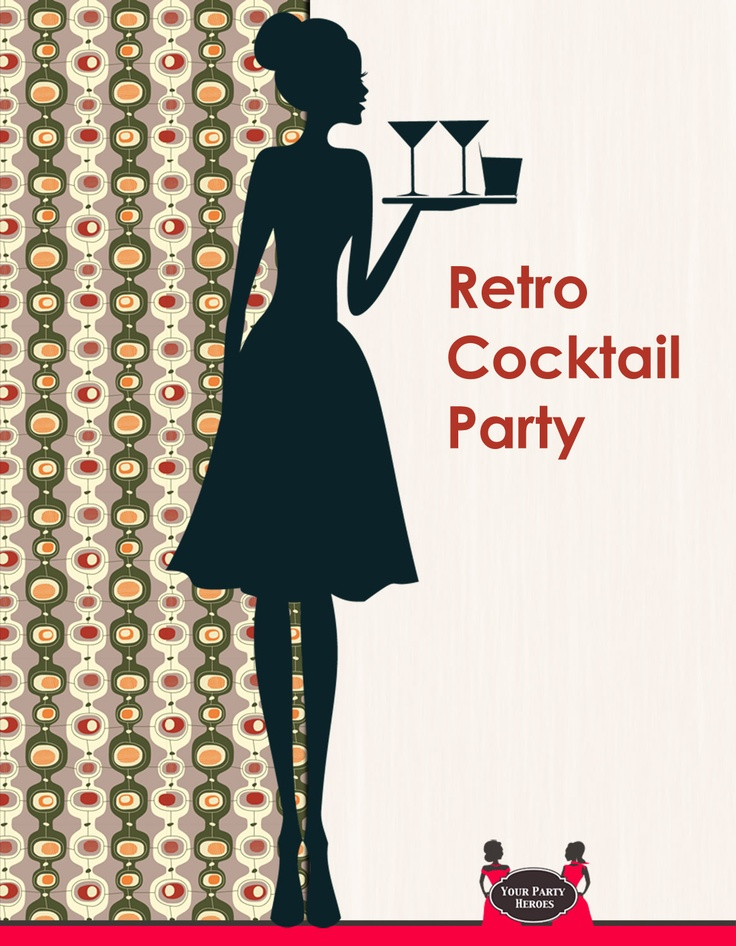 Retro Cocktail Party | Posters | Pinterest
