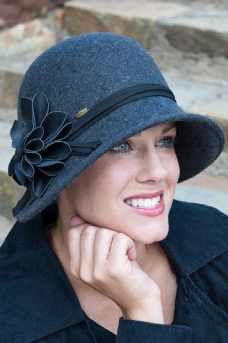 Fashionable Wool Hats for Women: Clara Cloche Hat Headcovers