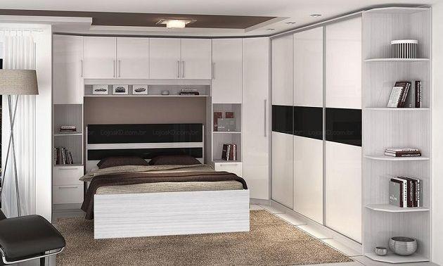 Modelos guarda roupa embutido recamara dormitorio y for Dormitorios modulares matrimoniales