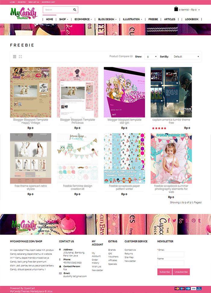 freebie blogger templates freebie scrapbook http://mycandymagz.com/shop/Freebie