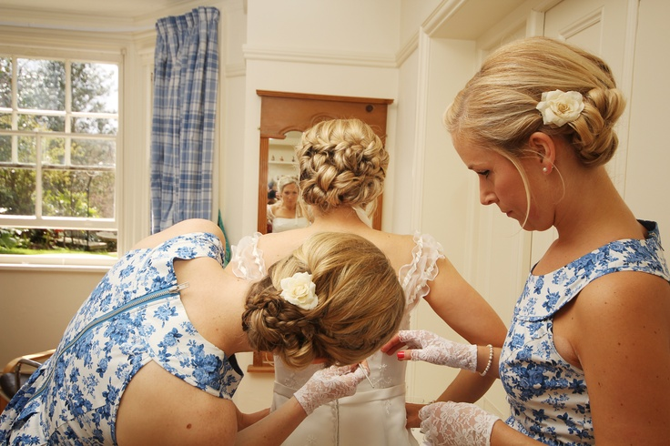 bridesmaid photo shoot
