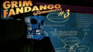 In this exciting episode of Grim Fandango things start to get sinister. Also, eagles on pogo sticks.  Let's Play the Grim Fandango Remastered! Grim Fandango is a Tim Schafer comedic adventure game with art deco/Day of the Dead stylings and a amazing story. Join me Manny Calavera (protagonist) as we romp around in the afterlife.