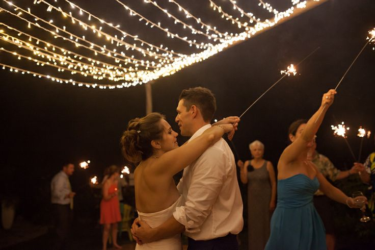 Wedding - Reception Lighting - Sparklers