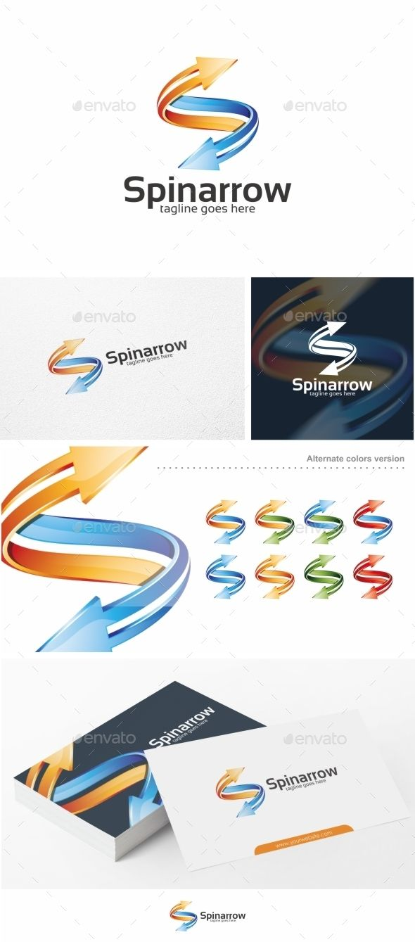 Spinarrow  - Logo Design Template Vector #logotype Download it here: http://graphicriver.net/item/spinarrow-logo-template/12416274?s_rank=1136?ref=nexion