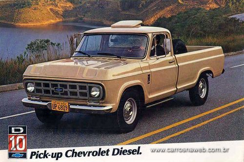 Chevrolet D-10 3.9 CS 1985 - Ficha técnica, equipamentos, fotos, preço