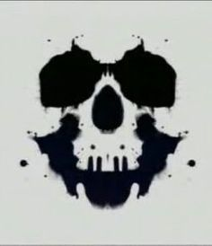 inkblot | Rorschach test and inkblot test | Pinterest | Ram Skull ...