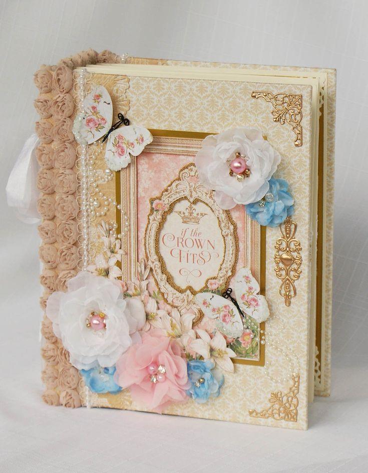 G45 Gilded Lilly Mini Scrapbook Photo Album