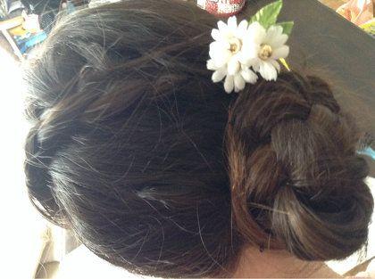 ヘアスタイル:アナと雪の女王のアナの髪型