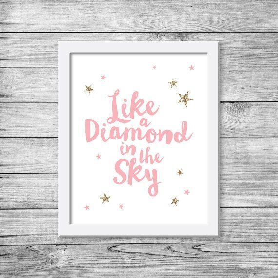 Twinkle twinkle little star printable / Nursery by PixelpopShop