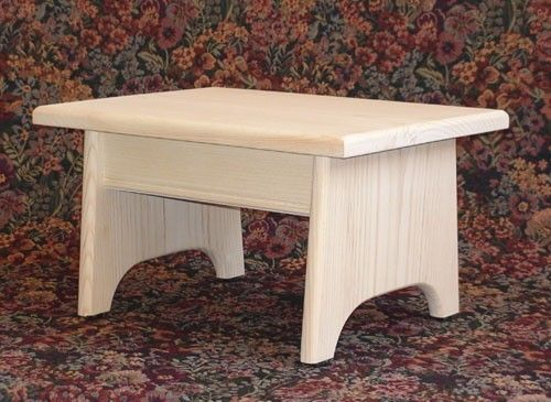 Foot Stool / Step Stool Pine Unfinished by OldVirginiaHome & 19 best Footstool images on Pinterest | Step stools Wood projects ... islam-shia.org