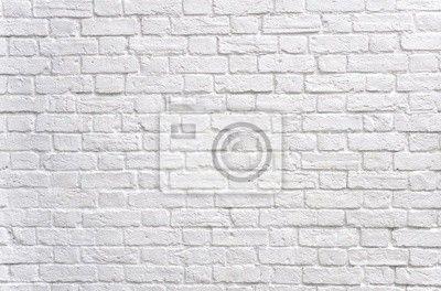 pareti mattoni bianchi per camino