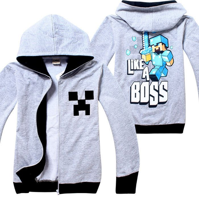 Our next featured item is hand picked by master 11, Minecraft 'Like a Boss' Jumper. Limited stock available - available in sizes 8 and 10 for only $18.50. Get in quick before they are all gone! https://www.treatclothingco.com.au/collections/jumpers-boys/products/minecraft-steve-like-a-boss-jumper