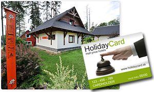 Dvojpodlažné domčeky, vhodné pre rodiny s deťmi (4-12 osôb), sa nachádzajú v Tatry Holiday Resorte v obci Veľký Slavkov len 2 km od Popradu a 7 km od Starého Smokovca. V domčeku na poschodí sa nachádzajú 2 spálne (3 lôžka s možnými prístelkami). V prízemnej časti je obývacia miestnosť s 2 rozkladacími pohovkami pre 4 osoby, TV/SAT, kuchynka s jedálenským kútom, chladnička , mikrovlnná rúra, dvojplatnička a varná kanvica, kúpeľňa/WC, terasa. Nestrážené parkovisko sa nachádza priamo v areáli.