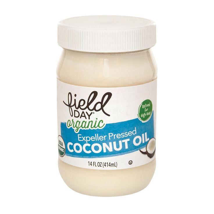 Field Day Organic Expeller Pressed Coconut Oil - Coconut Oil - Case Of 6 - 14 Oz.