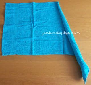 Jolanda's Crea-Blogg: Zwaan Tutorial Handdoek-vouwen