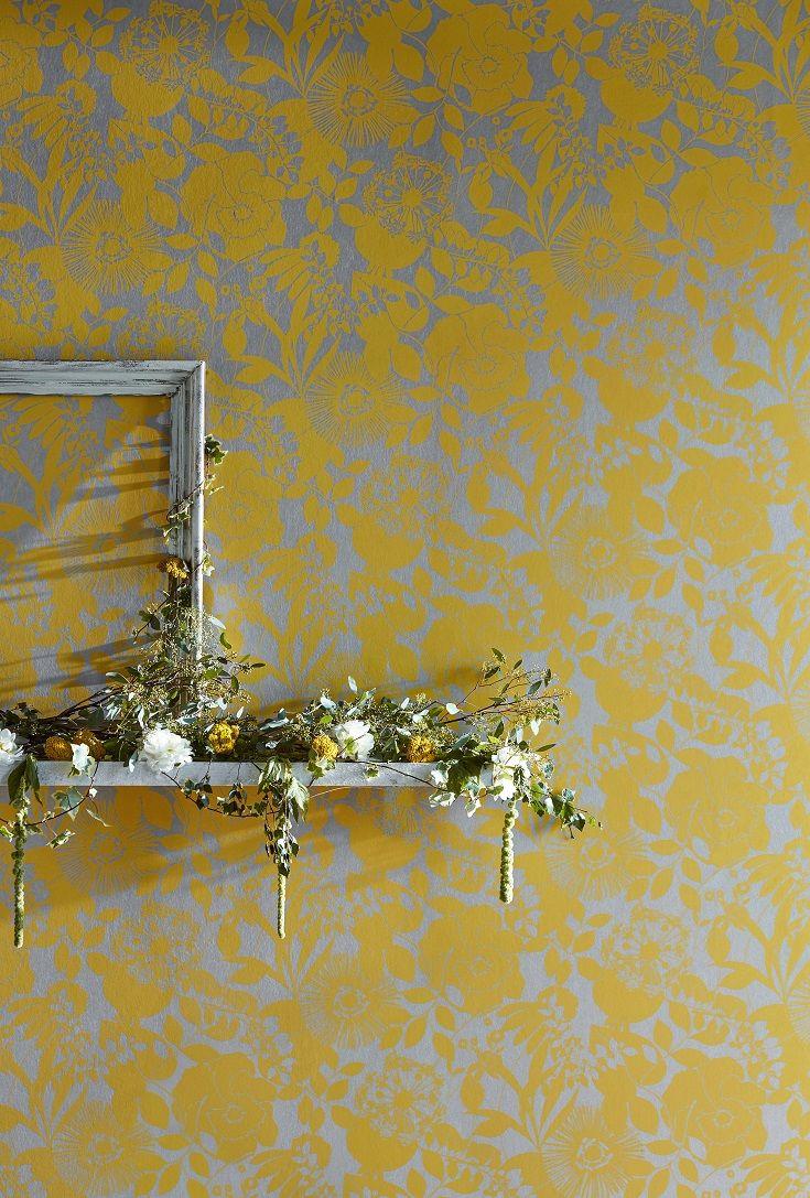 Coquette wallpaper design by Harlequin.