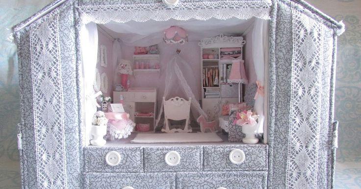 Уютный домик для моей души: Мамина сокровищница с миниатюрой для маленькой принцессы