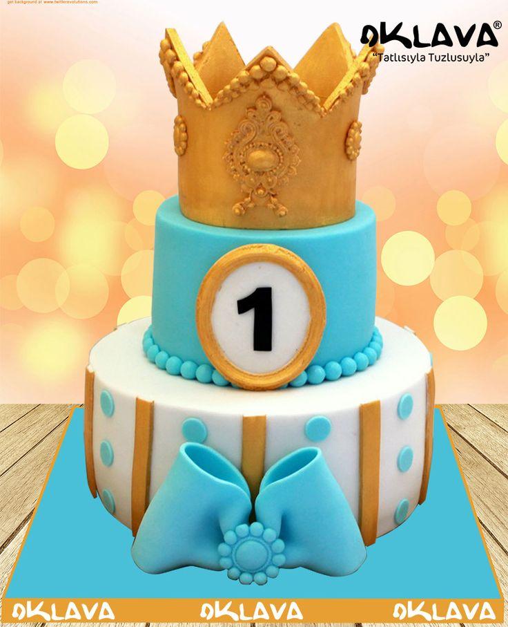 1 Yaş Taçlı Doğum Günü Pastası https://www.pastasipariset.com/1779-1-yas-katli-dogum-gunu-pastasi.html