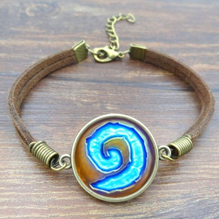 Get this WoW World of Warcraft Hearthstone Charm Bracelet and let the world know you're a WoW fan! Length:17+5cm INTERNET EXCLUSIVE - NOT SOLD IN STORES