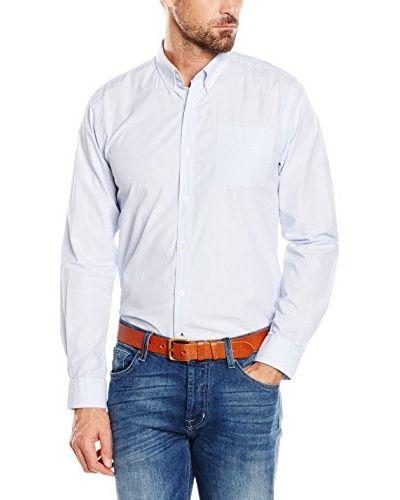 Cortefiel Camicia Uomo  [Blu Chiaro]