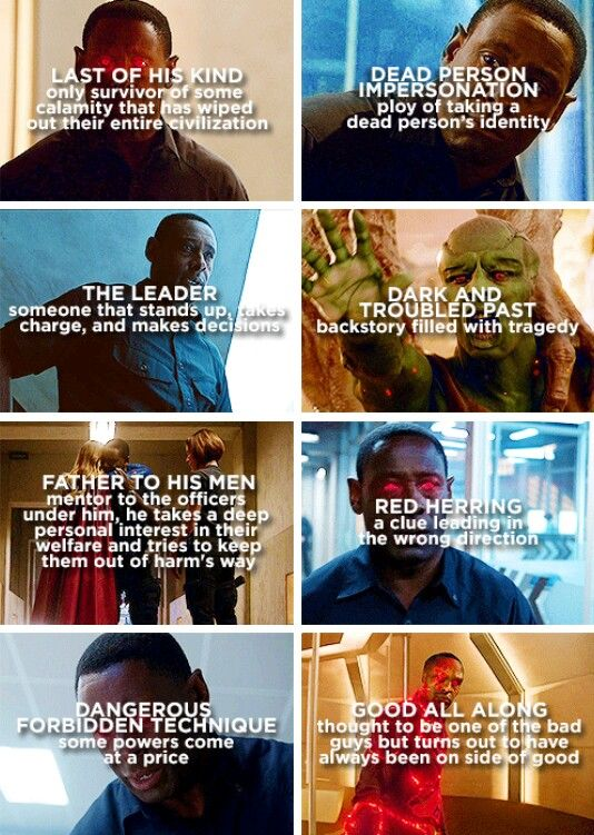j'onn j'onzz + character tropes #Supergirl