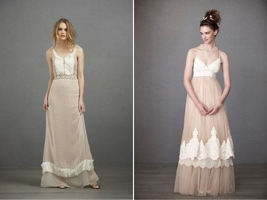 Days-gone-by wedding dress inspiration – living out a bit of those little girl dreams