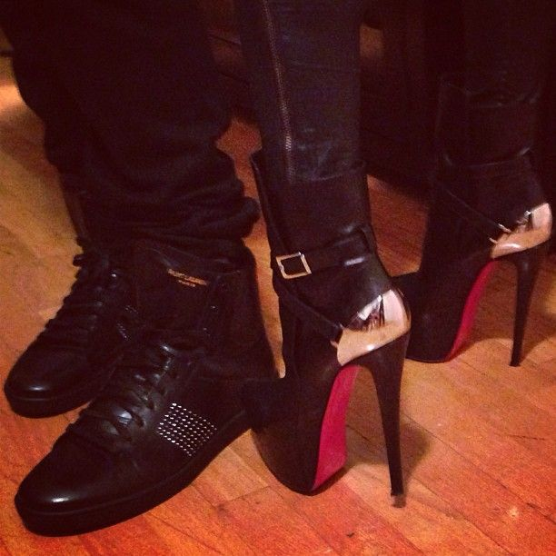 His && Hers Red Bottoms ༝༚ ༝༚ … | ☯・[ℍîƵ] 。&。 {{ℍɘṜ˚ƶ ...