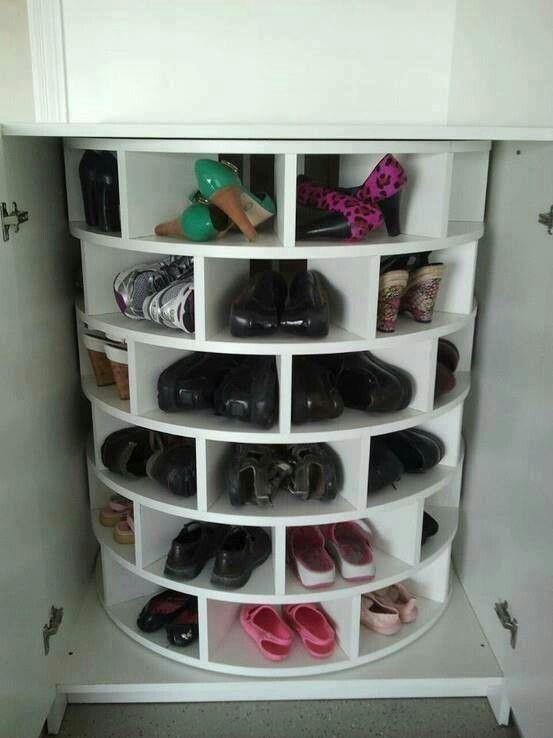 Cool Shoe Storage Idea